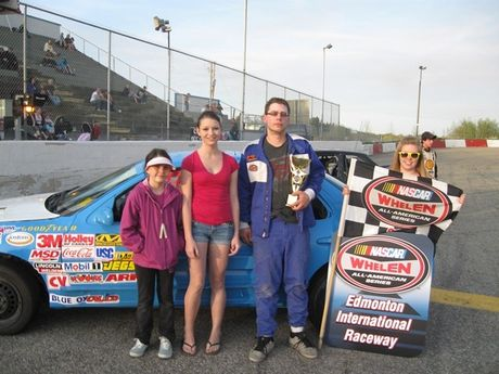 Osman Auction NASCAR Feature Stocks Feature Race - 2nd - #42 Rhys Hill