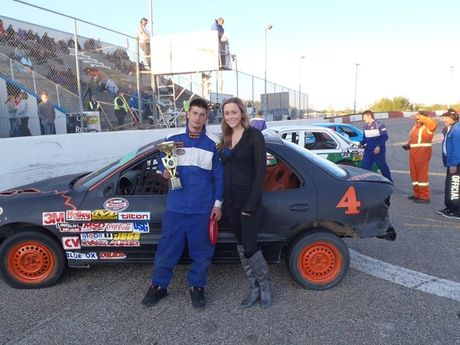 Osman Auction NASCAR Feature Stock Feature Race Winner - #4 Devon Rendall