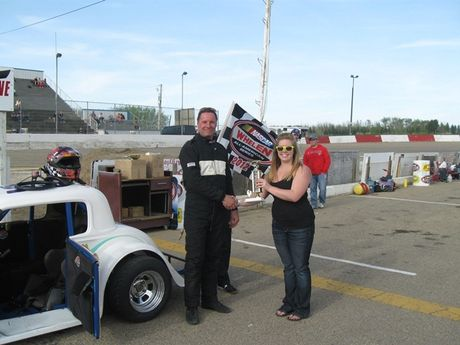 May 12th - Legends Car Trophy Dash Winner -  #05 John Lakeman