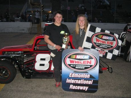 May 12, 2012 - Legends Cars Pro Feature Race Winner - #81 Dexter Hucal