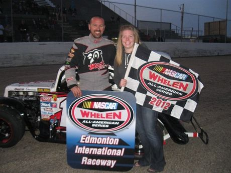 May 12, 2012 - Legends Cars - Masters Feature Race Winner - #17 Ira Laughy