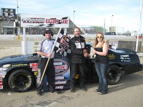 May 12th - NASCAR Super Stock Trophy Dash Winner - #45 Kel Rudy