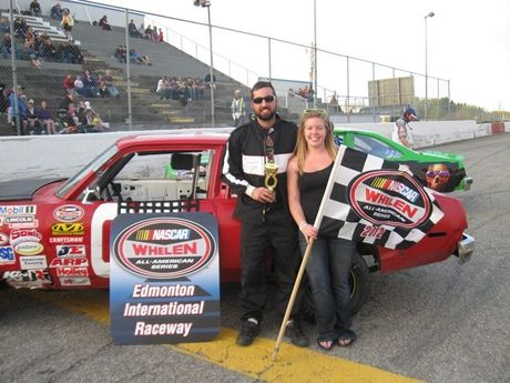 May 12, 2012 - NASCAR Thunder Car Feature Race - 2nd Place - #05 Matt Nemec