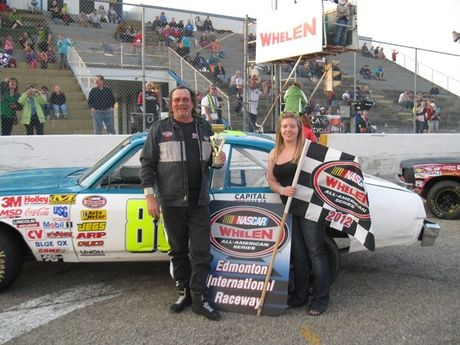 May 12, 2012 - NASCAR Thunder Cars Feature Race - 2nd Place - #05 Matt Nemec