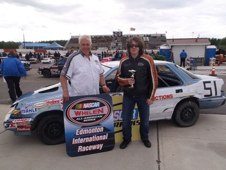 BLIND BEHIND THE WHEEL TROPHY DASH WINNER<BR>RYAN KUCY WITH NAVIGATOR ALAR AKSBERG
