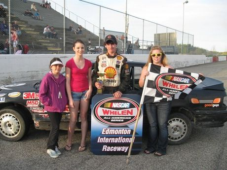 Osman Auction NASCAR Feature Stocks Feature Race - 3rd - #11 Sean Bell