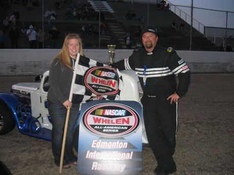 May 12,2012 - Legends Cars - Semi Pro Feature Race Winner - #31 Tom Weston